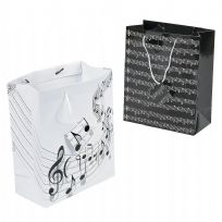 Medium Music Themed Gift Bag